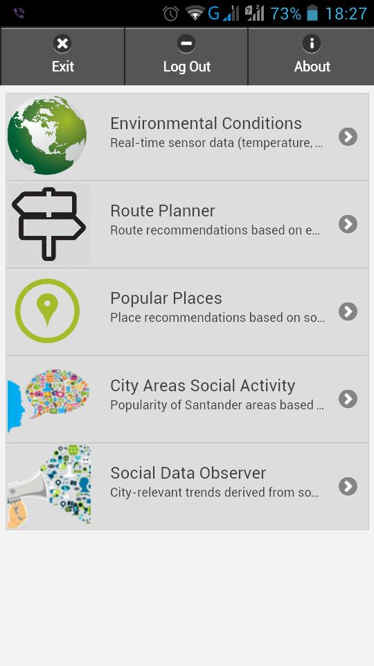Mobile app screenshot1